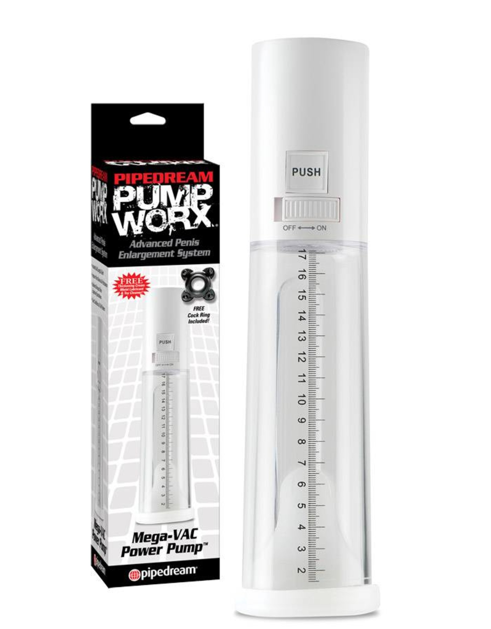 Pump Worx Mega-Vac Power pompe