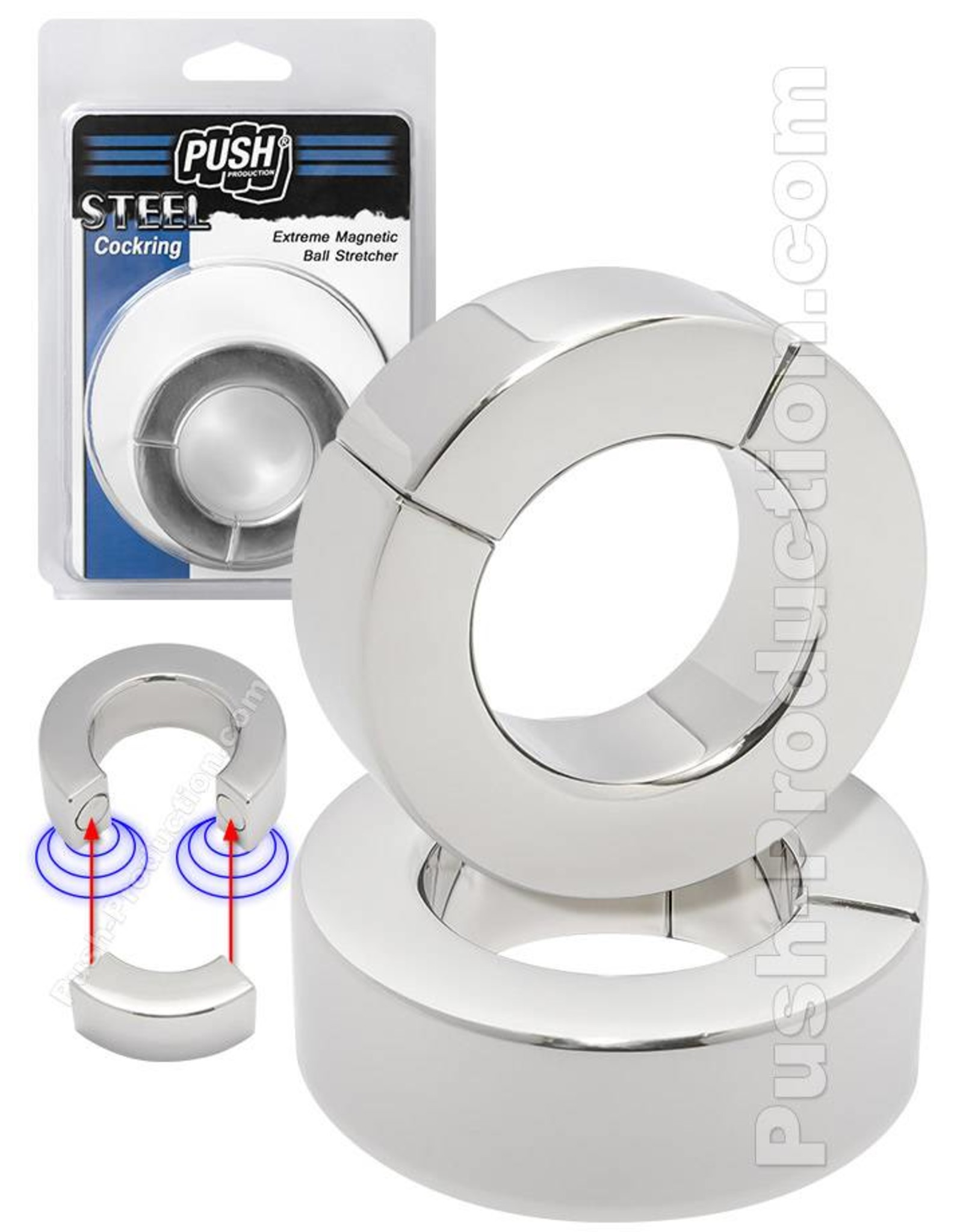 Push Steel - Extreme magnétique Ball Stretcher 20mm