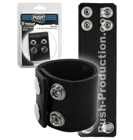 Push Xtreme Leather Houston Snap Strap Ballstretcher large