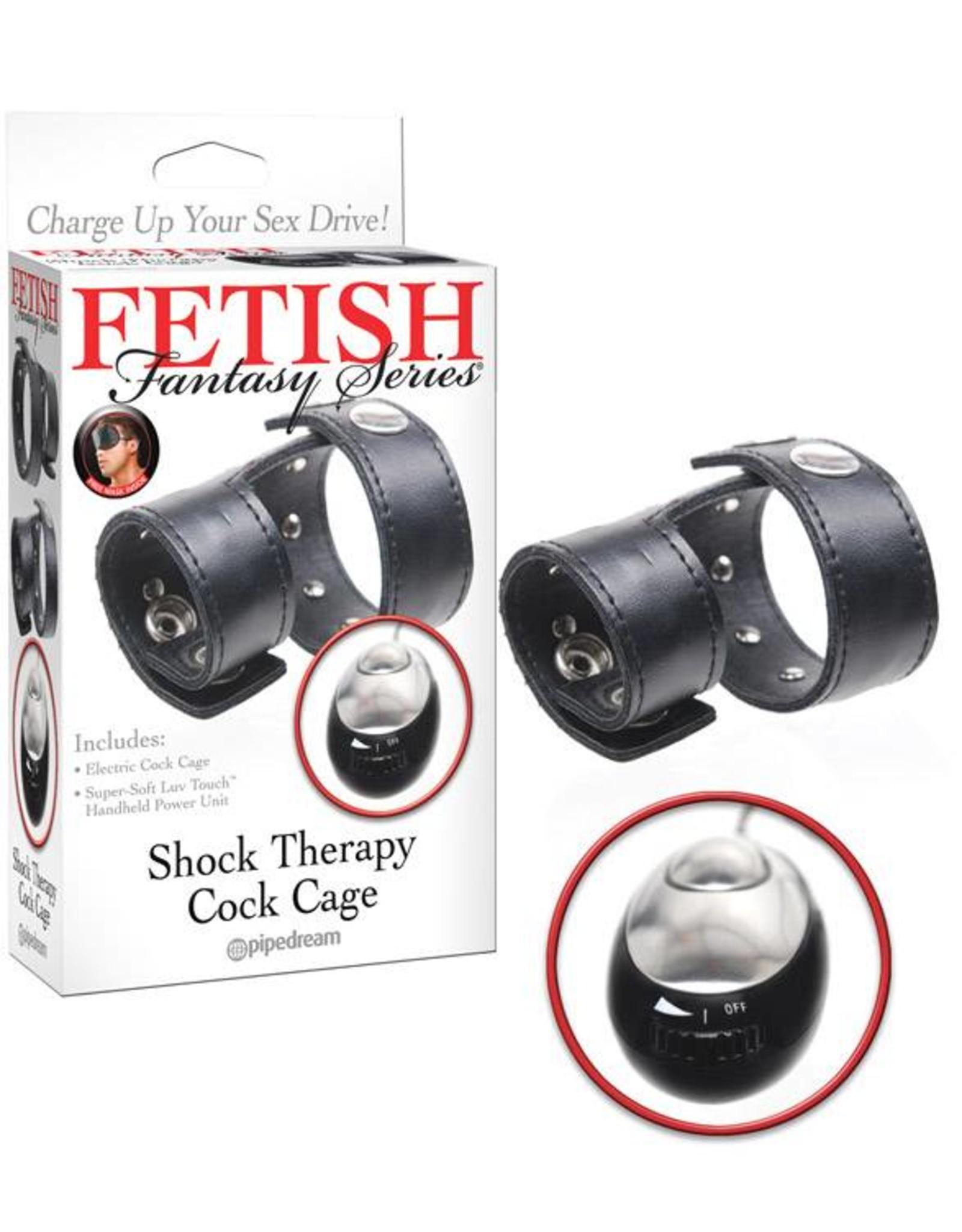 Fetish Fantasy Shock Therapy Cock Cage
