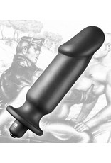 Tom of Finland Tom of Finland Single Speed Vibrating Plug - Large