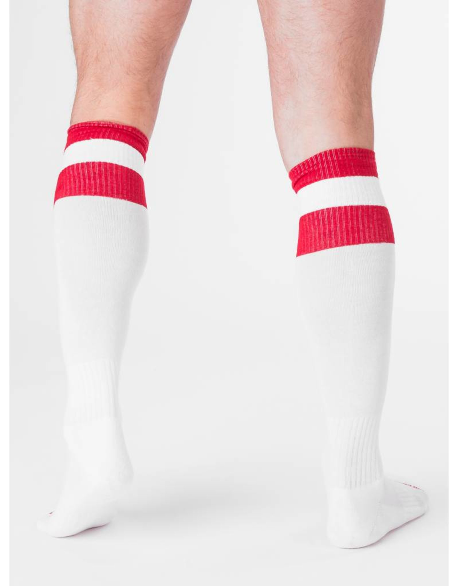 Barcode Berlin Barcode Berlin Football Socks blanc- rouge