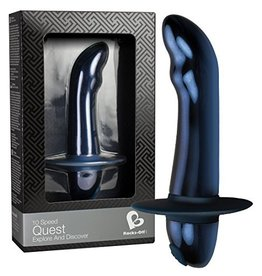 Rocks Off 10 Speed Quest Prostata Massager - Blau
