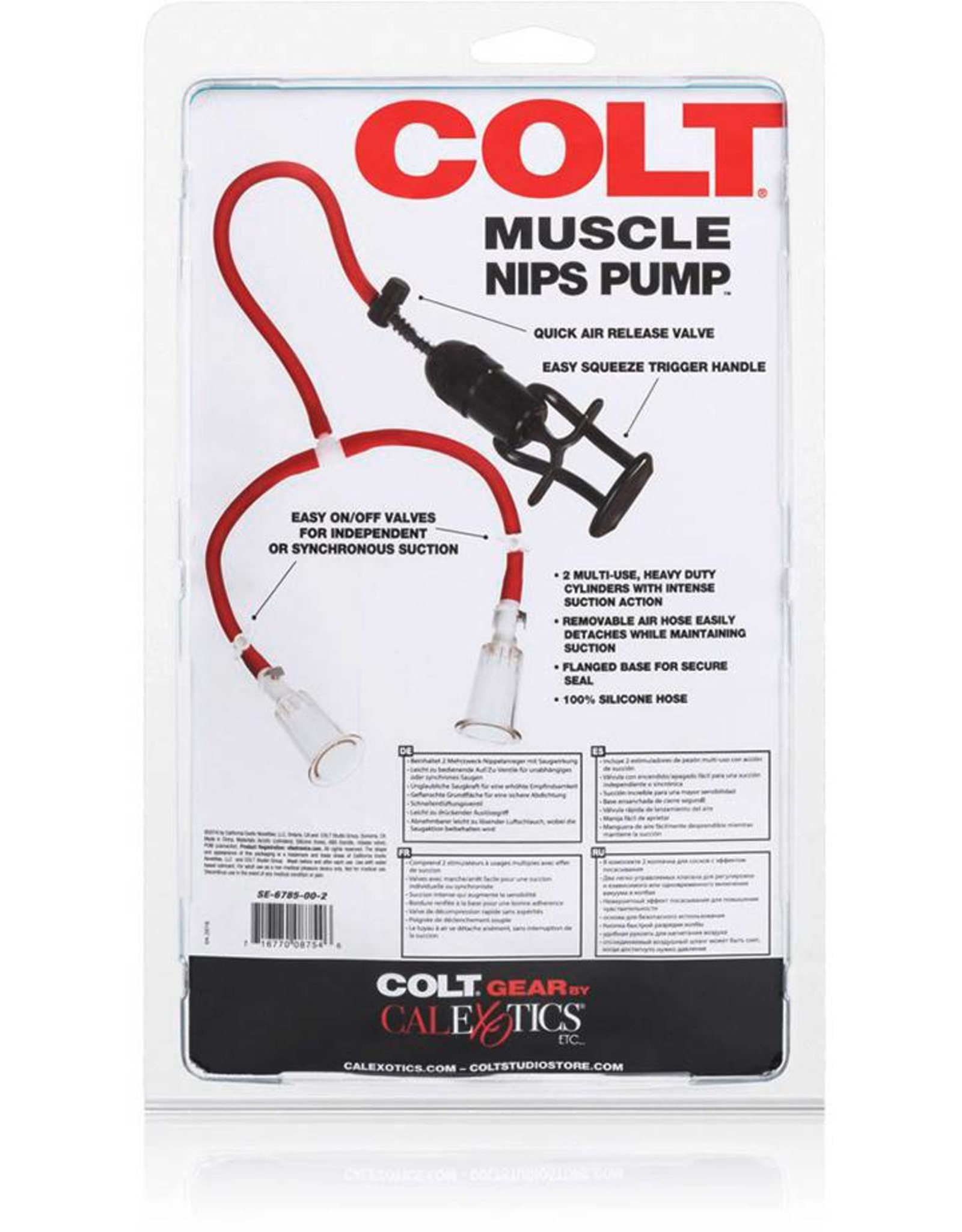 Colt COLT Muscle Nips Pump Brustwarzensauger