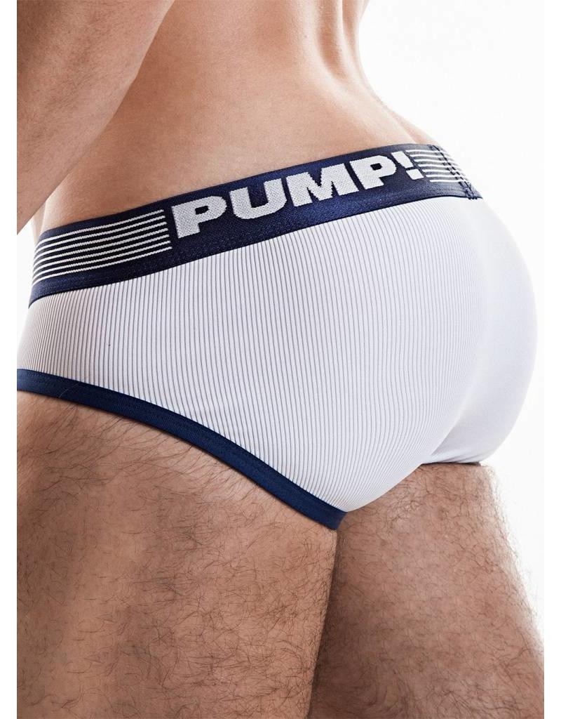 PUMP! PUMP! Ribbed Brief Navy