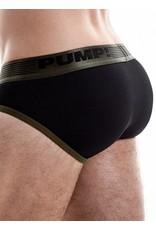 PUMP! PUMP! Ribbed Brief vert