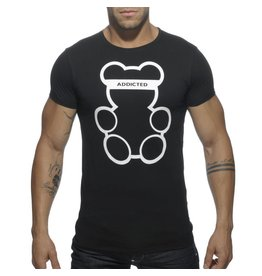 Addicted ADDICTED Bear T-Shirt schwarz