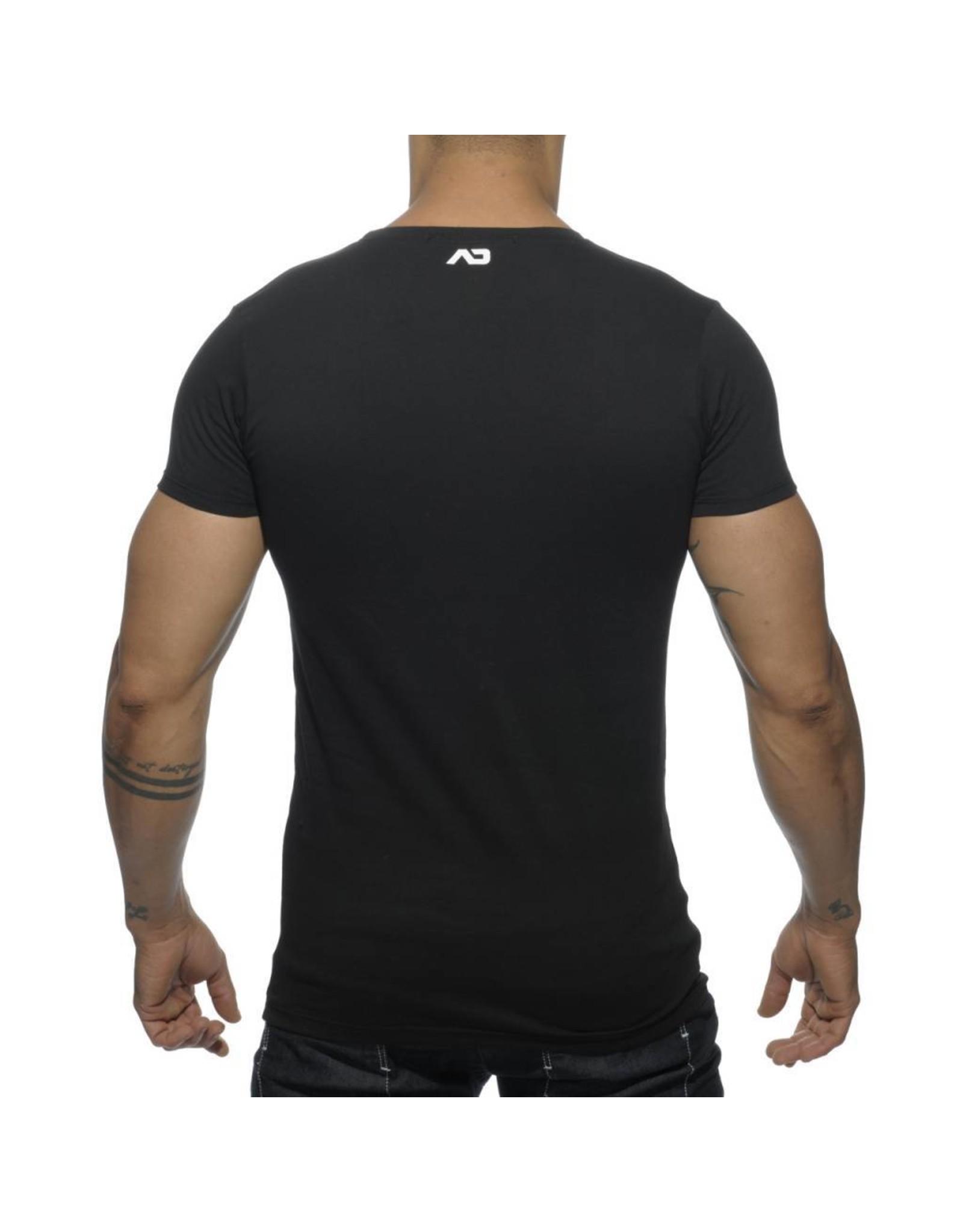 Addicted ADDICTED Bear T-Shirt noir