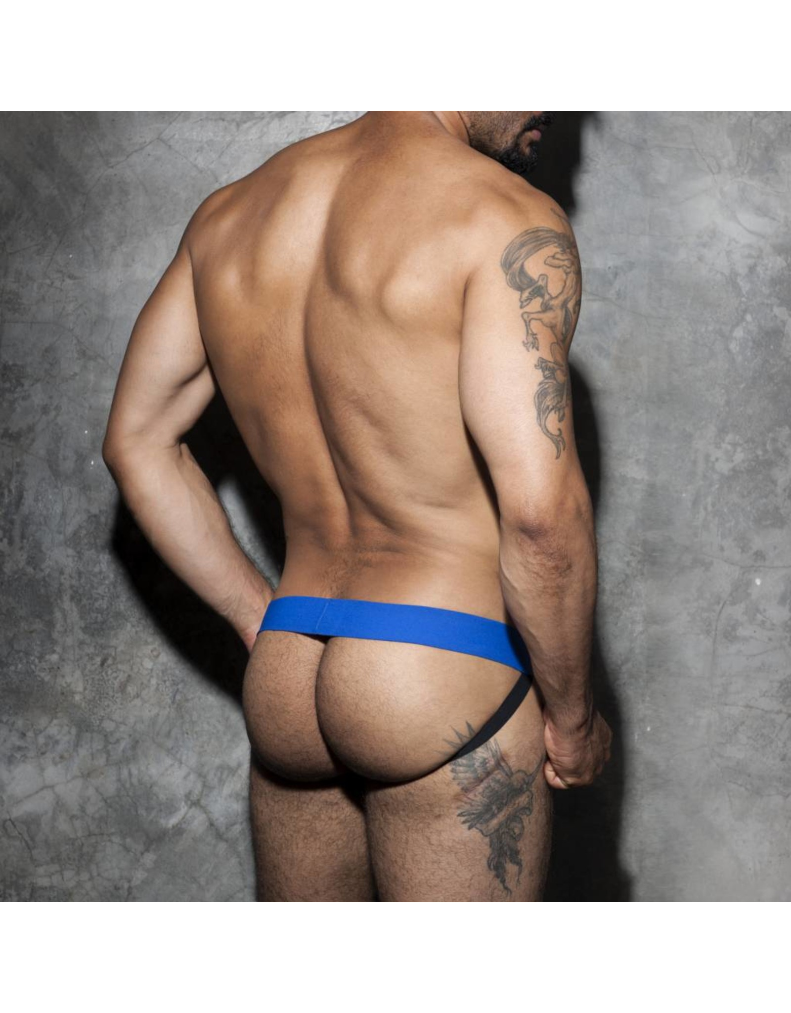 Addicted Addicted Fetish Cockring Jockstrap blau