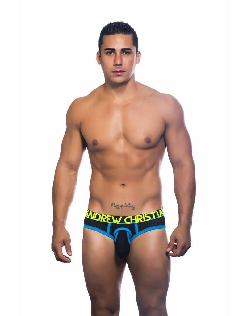 Andrew Christian Andrew Christian Soccer Air Brief schwarz