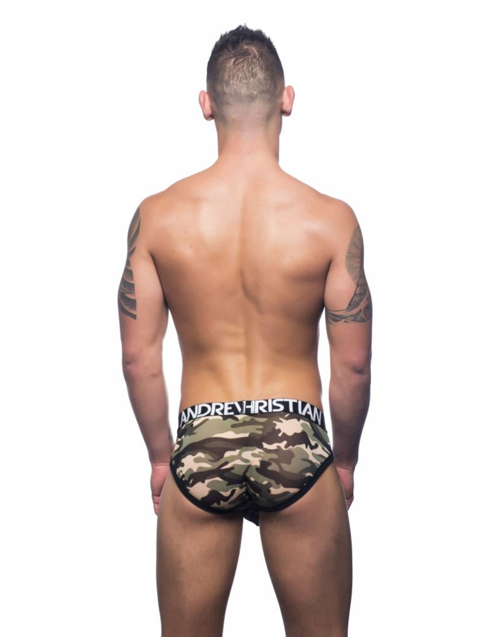 Andrew Christian Andrew Christian Camouflage Air Brief