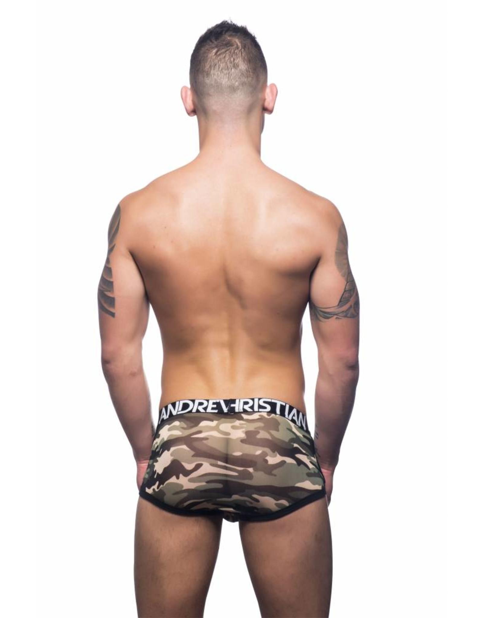 Andrew Christian Andrew Christian Camouflage Mesh Boxer