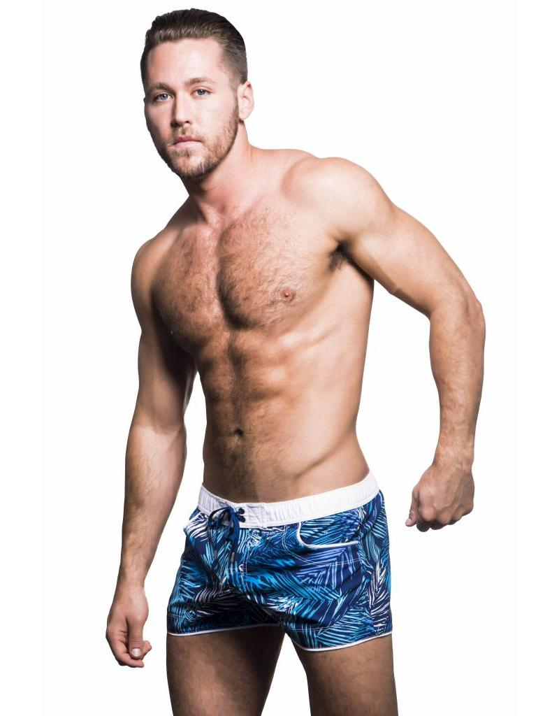 Andrew Christian Andrew Christian Tropical Palm Swim Shorts