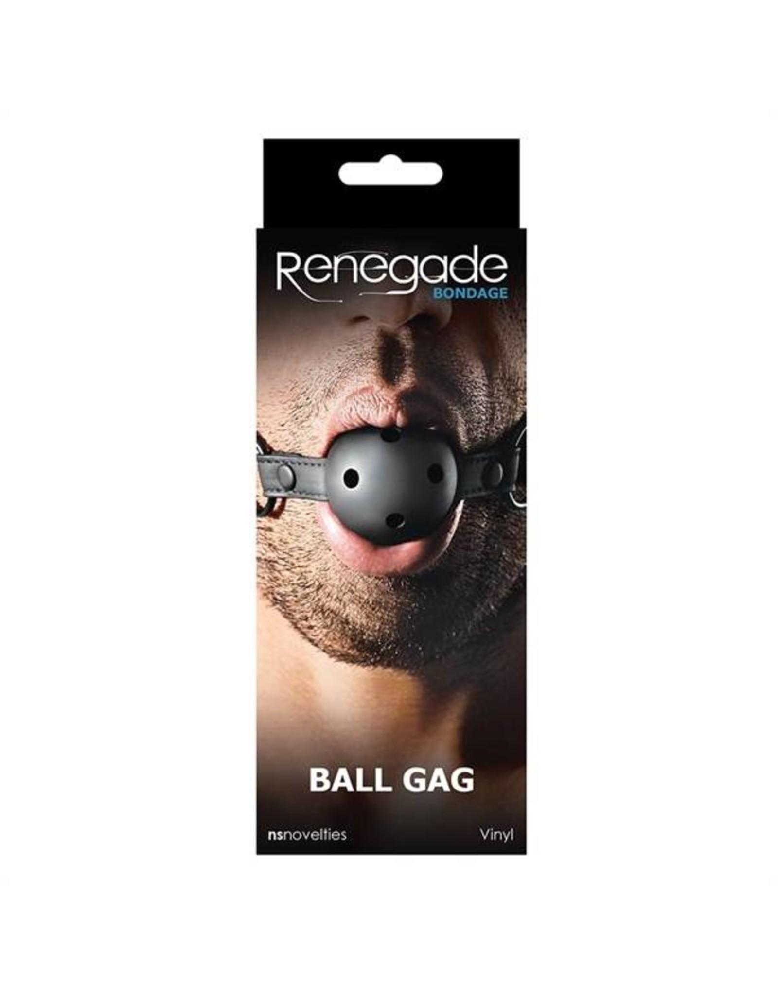 Renegade Bondage Ball Gag