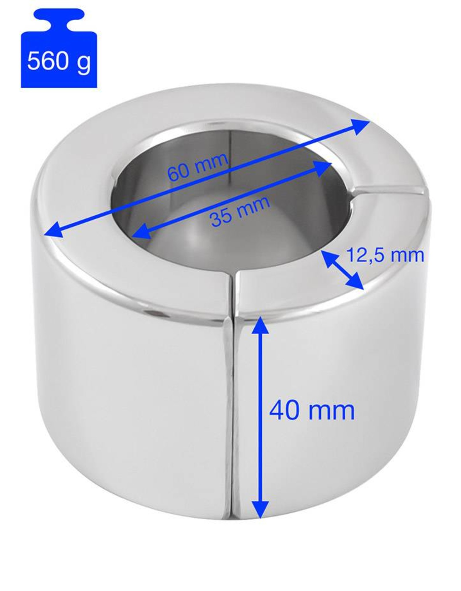 Extreme Heavy magnétique Ball Stretcher 40mm