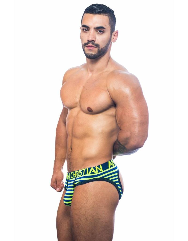 Andrew Christian Andrew Christian Almost Naked Electric Stripe Jock