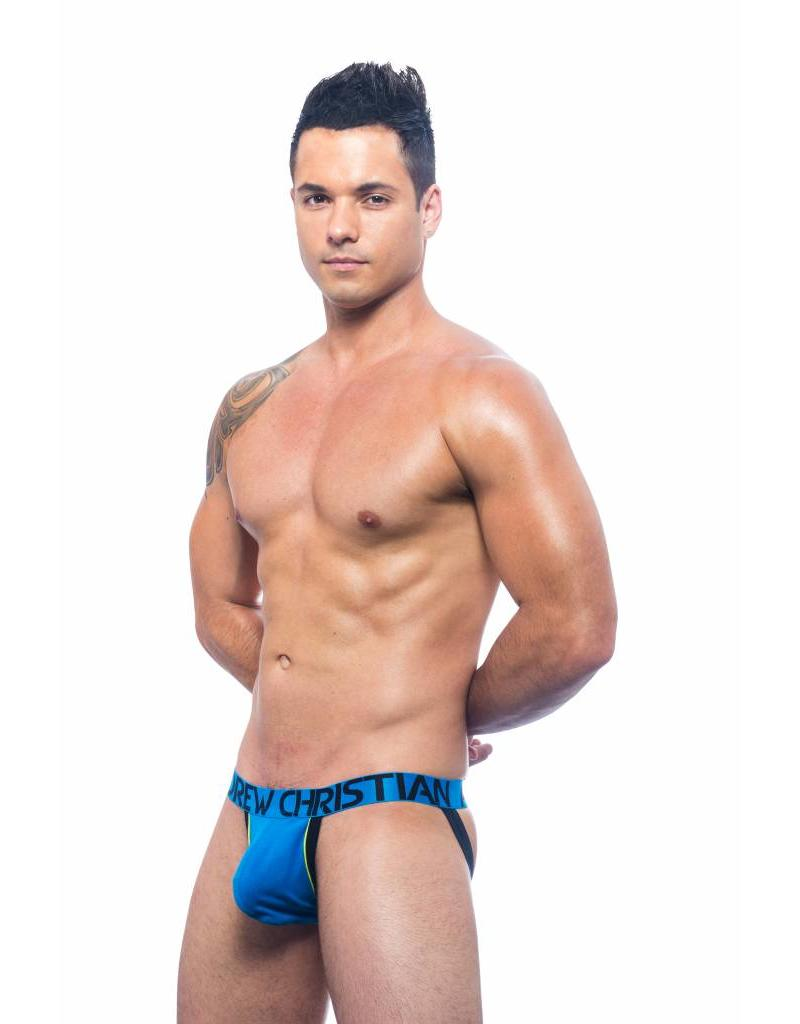 Andrew Christian Andrew Christian Show-It Retro Pop Jock - blau