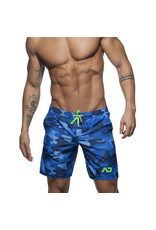 Addicted ADDICTED Camouflage bleu Swimwear Boxer  Long