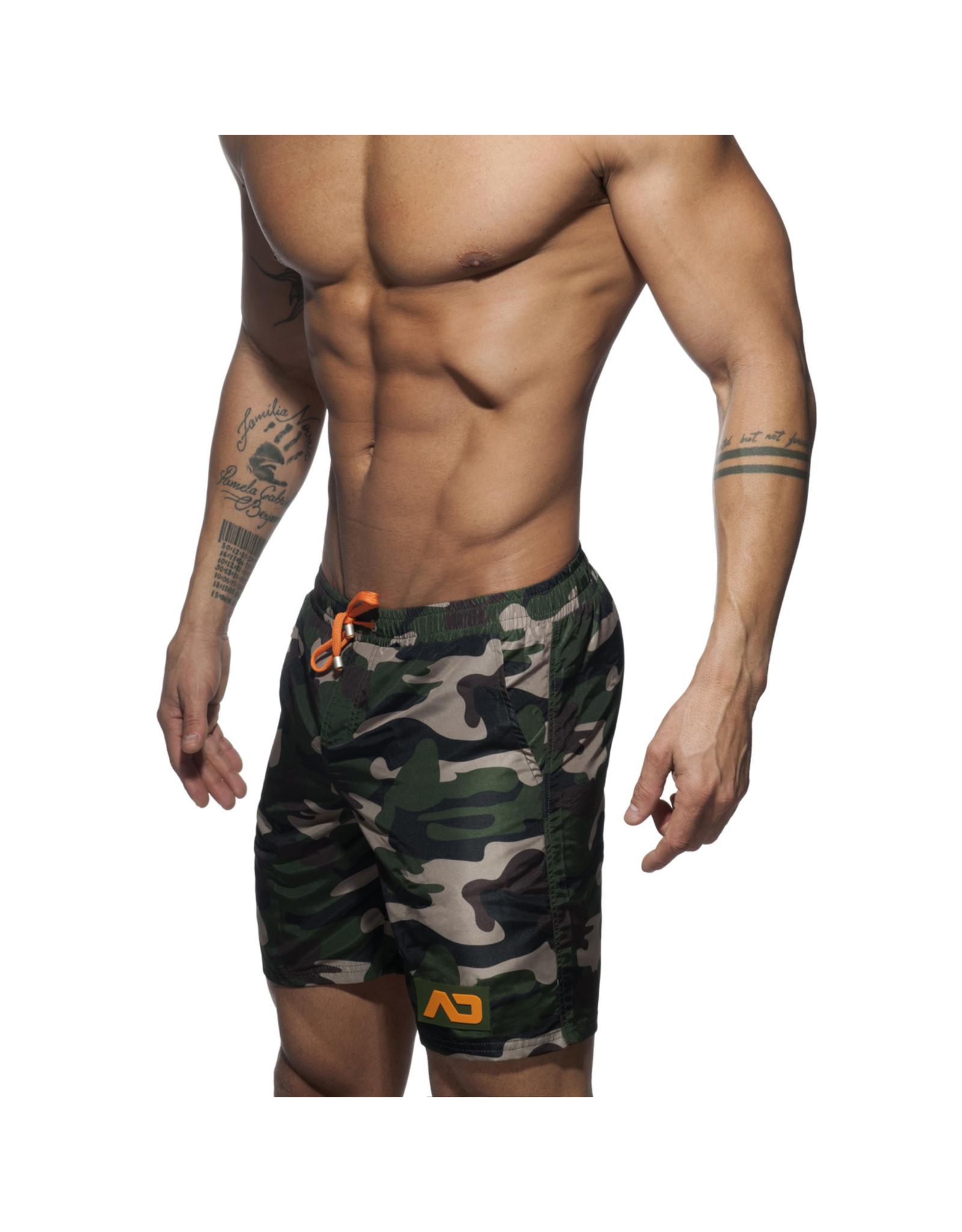 Addicted ADDICTED Camouflage Swimwear Boxer  Long