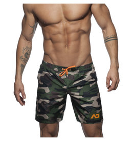 Addicted ADDICTED Camouflage Swimwear Boxer  Long