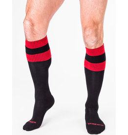 Barcode Berlin Barcode Berlin Football Socks noir - rouge