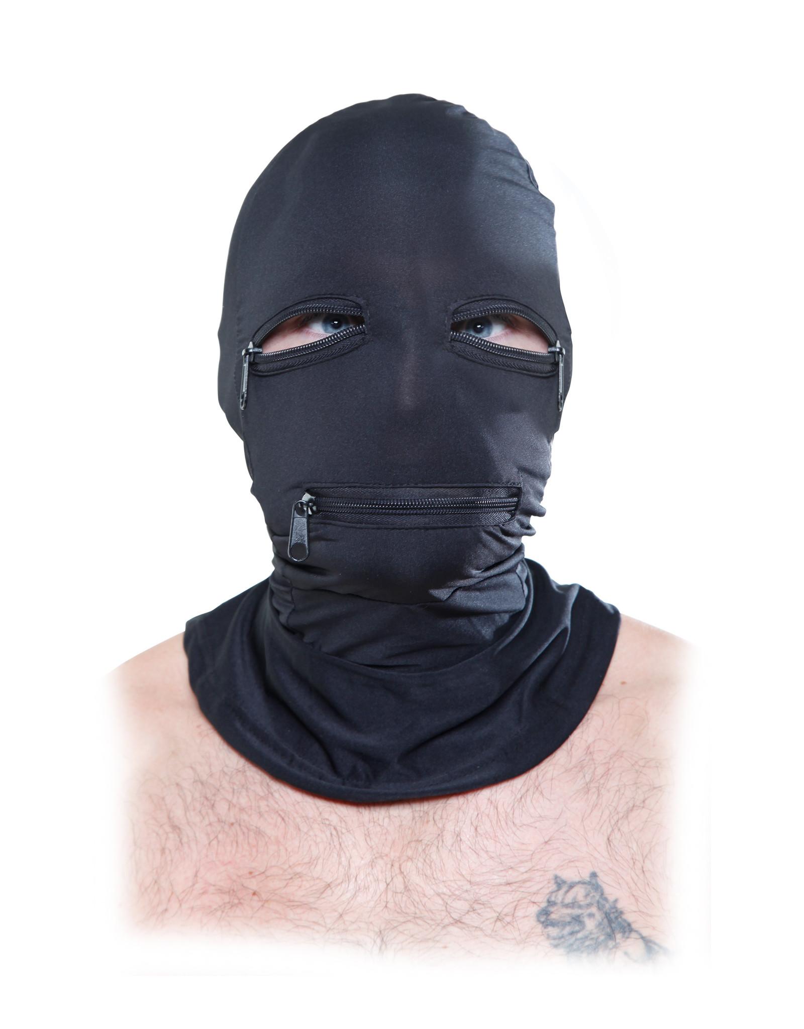 Fetish Fantasy - Zipper Face Hood