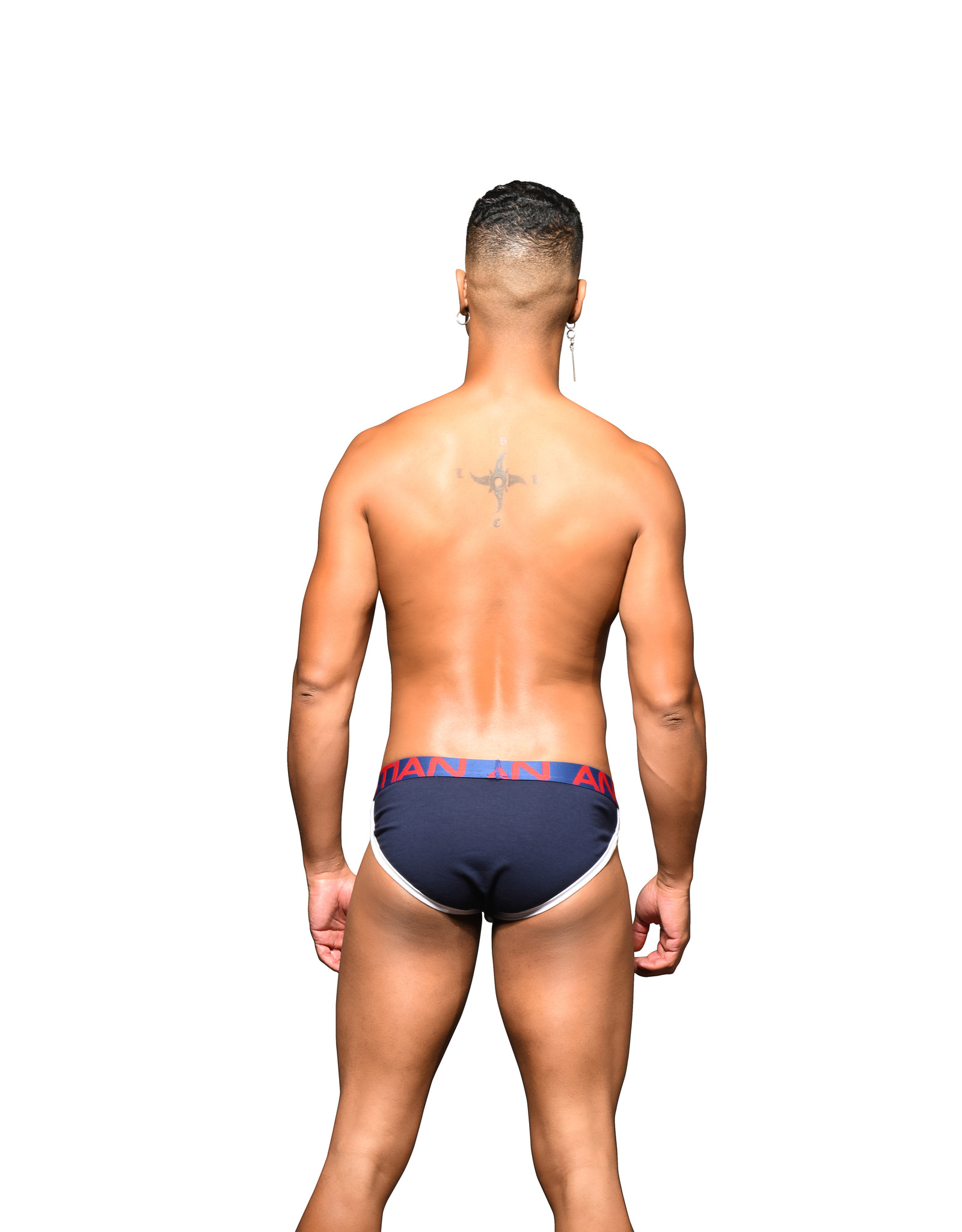 Andrew Christian Andrew Christian Show-It Retro Pop Brief Navy