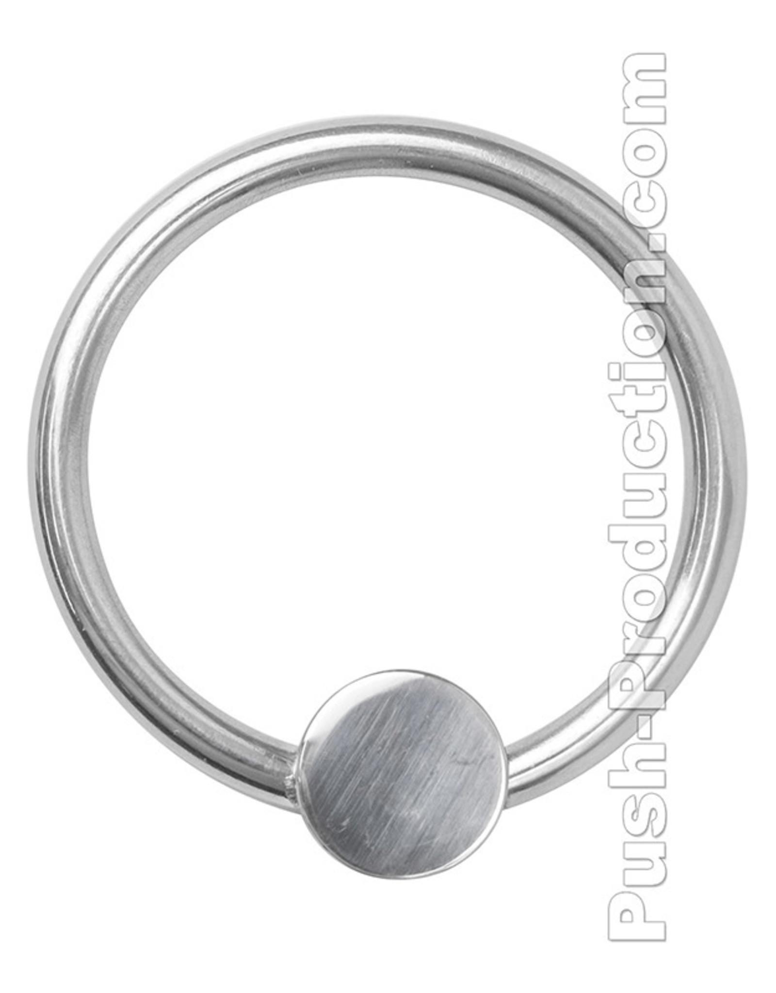 Push Steel - Pressure Plate Glans anneau de gland