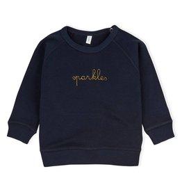 Organic Zoo Sweatshirt navy sparkles
