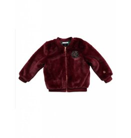 Ammehoela Bomber jacket bordeaux reversible