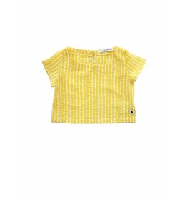 Ammehoela Woven Top Yellow