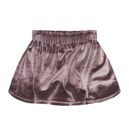 Your Wishes Pink Velvet Skirt