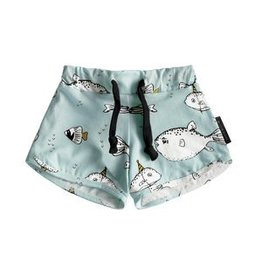 Your Wishes Deep Sea Blue Short