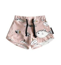 Your Wishes Deep Sea Pink Short