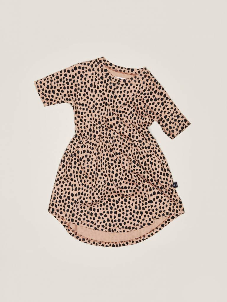 Huxbaby Huxbaby Leopard Swirl Dress