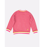 The Harbour Kids Milkshake Pinstripe Sweater