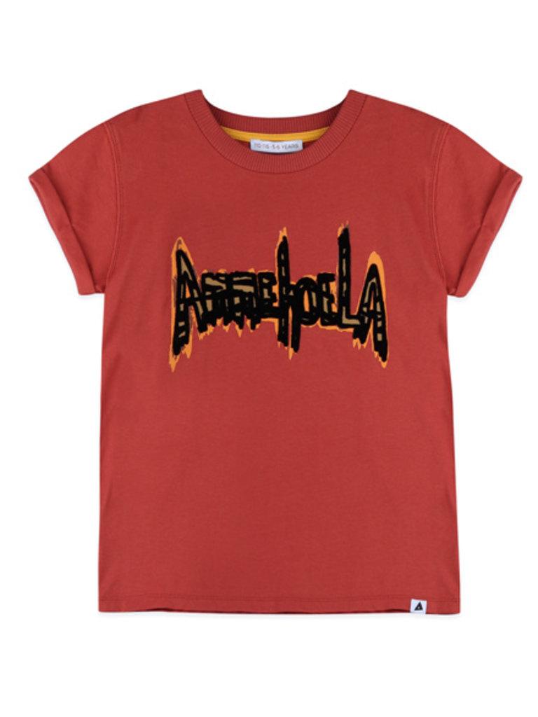 Ammehoela Shirt Ammehoela Zoe Warm Red