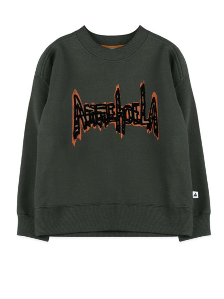 Ammehoela Rocky Sweater Dark Green
