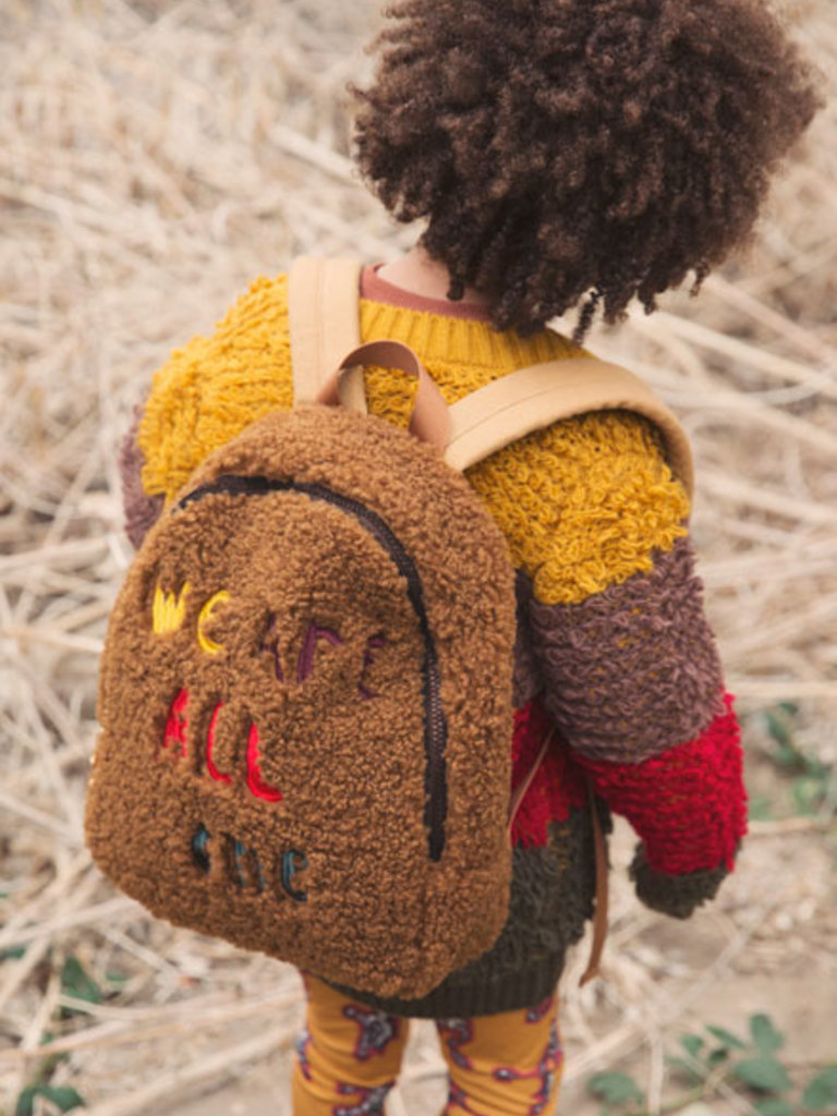 Ammehoela Teddy Backpack Caramel Camel