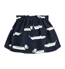 Your Wishes Puppy Blue Skirt