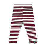 Your Wishes Stripes - Wine | Legging