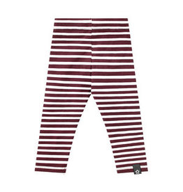 Your Wishes Stripes Wine Legging