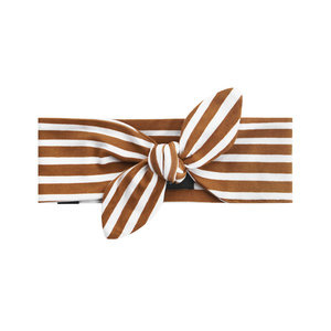 Your Wishes Stripes - Camel | Headband