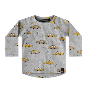Your Wishes Yellow Taxi | Raglan Longsleeve