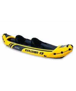 Explorer K2 - 2 pers. kayak met peddel en pomp