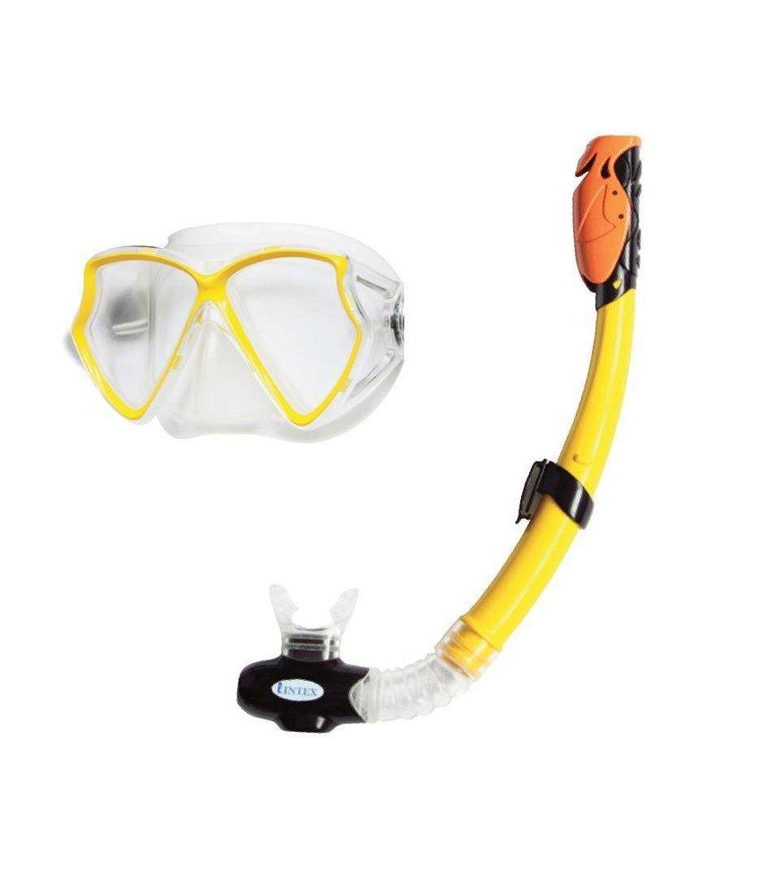 Intex Sillicone Aviator Pro Swim snorkelset