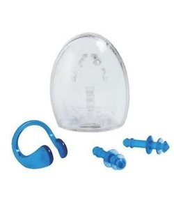 Ear Plugs & Nose Clip Set