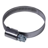 Slangeklem voor filterslang 25-40 mm RVS