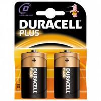 Batterij Plus type D (2 stuks)