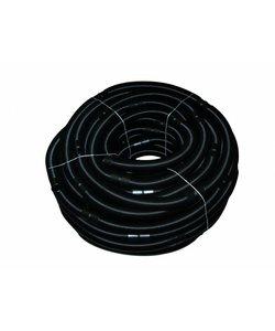 Solarslang 38 mm per 0.5 meter zwart